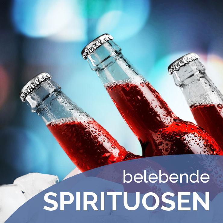 Getränkeheimdienst Hausotte - Sortiment belebender Spirituosen