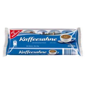 Kaffeesahne-Tassenportionen