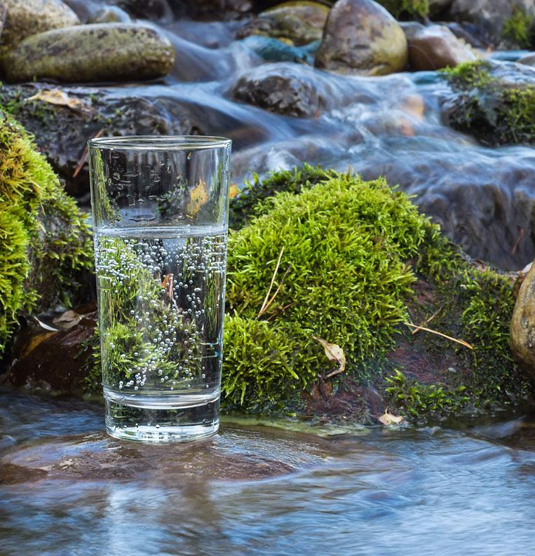 Die naturreinen Wässer werden unverfälscht aus tiefen unterirdischen Quellen abgefüllt und enthalten meist sehr viele Mineralstoffe und Spurenelemente.